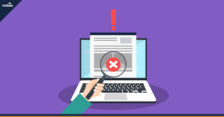 ¿Cómo arreglar un documento tributario electrónico con errores?